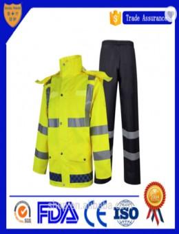 Custom waterproof Raincoat suit sale