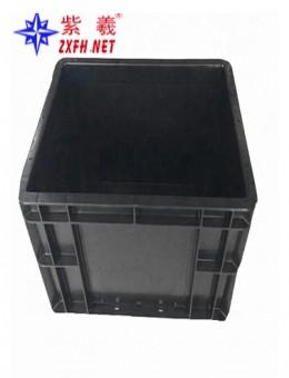 Anti-static B lack Plastic Turnover Box
