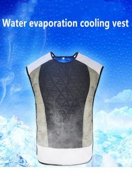 Water cooled vest riding cooling vest water evaporating cooling vest