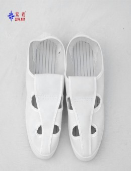 High quality Classic Factory Wholesale Electronics work Food factory Antistatic And Dust-free Breathable Canvas Shoes