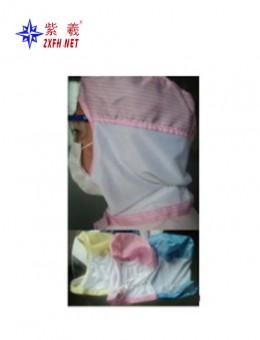 Antistatic half scarf cap
