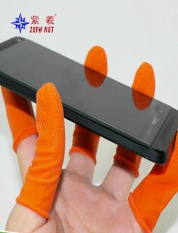 Antistatic finger stall