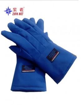 Low-temperature resistance liquid nitrogen gloves