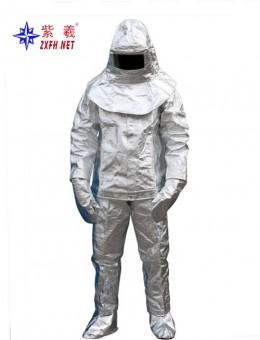 Aluminum foil firefighter's clothes