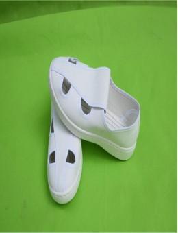 紫羲防静电四孔四眼鞋