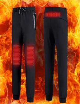 冬季智能电发热裤男女运动休闲充电电热裤子冬天加绒男女款