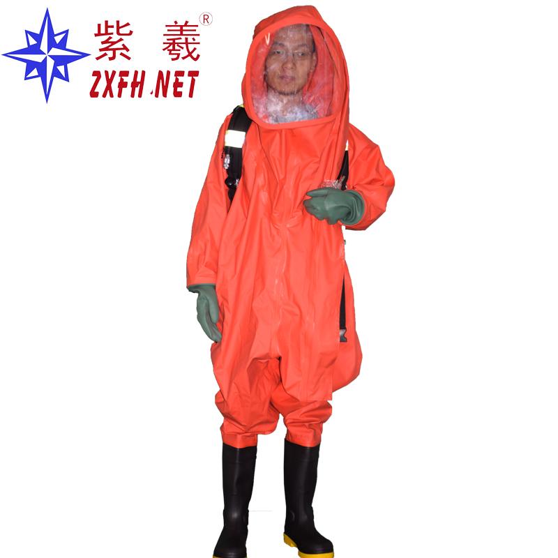 呼吸器内置式消防防化服重型防化服