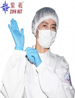 白色立领工作抗油服套装