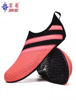 溯溪潜水浮潜沙滩鞋速干跑步机鞋瑜伽护脚贴肤游泳鞋OEM