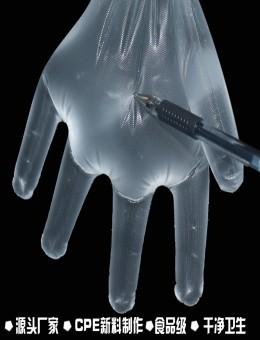 CPE食品级防护手套上海紫羲专注食品防护用品16年