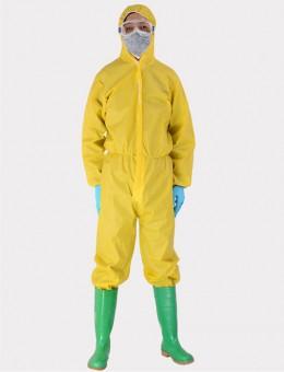 黄色凯麦斯防化服